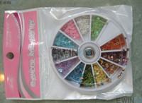 Metallic Nail Tips Half Nail New and Fashion 12 Sheet Mix Color Nail Art Acrylic Nails Tips Hot Sell 360bag lot