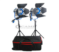 Wholesale Dimmable X100W LED Fresnel Light Offers Focusable Cool Lights Option stand bag