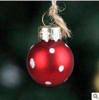 Wholesale Exquisite hand blown glass ball Christmas ball Christmas ornaments