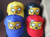 New arrival Cartoon Adventure Time Cosplay Cute Sun Hats Thr...