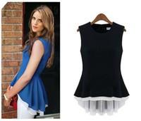 womens black vest