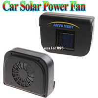 Wholesale Solar Power Car Auto Cool Air Vent With Rubber Stripping car ventilation fan free drop