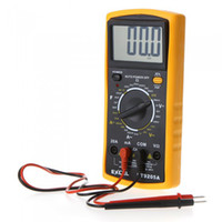 Wholesale AC DC LCD Digital Multi meter Volt Ohm Amp Tester Checker