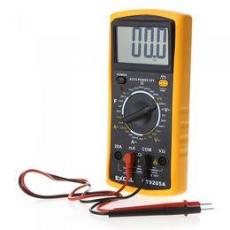 Wholesale AC DC LCD Digital Multi meter Volt Ohm Amp Tester Checker