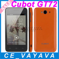 4.0 Android 4.2 256M MTK6572 CUBOT GT72 4 Inch Screen Android Dual Core 1.2GHZ Smartphone 2MP Camera Android 4.2 GPS WIFI Dual SIM Free Case