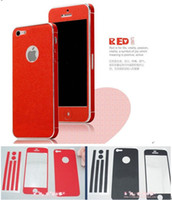 Wholesale Colorful Cell Phone Skins Stickers Colour Full Body Mobile Phone Accessoried Fashion Skin For iphone5 g iphone