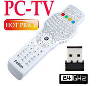 Wholesale PC TV All in One G Wireless Mini Keyboard Mouse Universal IR Learning Remote Control for Windows Android Mac OS Linux drop