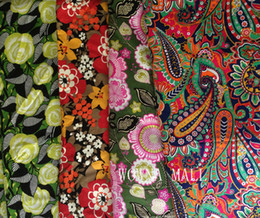 Wholesale latest new Winter patterns cotton fabric Limited quantities by the yard
