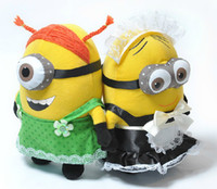 Despicable me 2 Plush Toy 3D soya beans With the maid free s...
