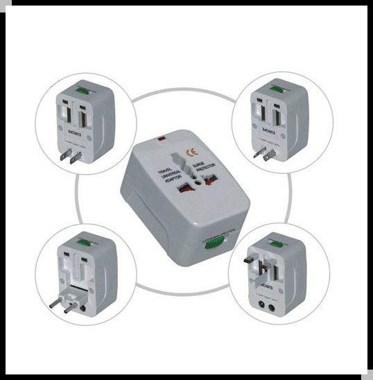 World Travel Universal Adapter Plug 110v 120v 220v 230v 240v Eu Uk Au Usa De Es Fr Ca Plug Power