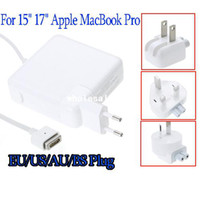 Wholesale For Apple MacBook Pro quot inch W Replacement Magsafe AC Power Adapter Charger EU AU US BS Plug V A Free drop