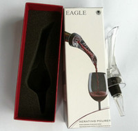 Wholesale Factory Price DHL Hot Selling Quick Aerating Red Wine Pourer New Packaging Magic Wine Bottles Essential Decanter