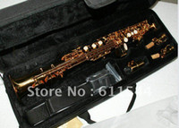 Wholesale High Quality Newest Soprano Saxophone Golden With Case