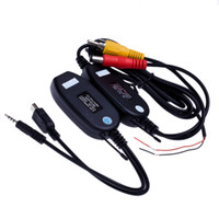 Wholesale 2 G Wireless RCA Video Transmitter amp Receiver for Car Rearview Camera Monitor K240