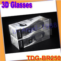 Wholesale Gift Idea New Brand NEW Genuine D ACTIVE GLASSES FOR SONY TV TDG BR250 B TDG BR250 B