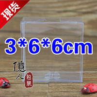 Wholesale Spot PVC clear plastic packaging boxes for displaying jewelry snacks toys gifts cm Factory direct sales