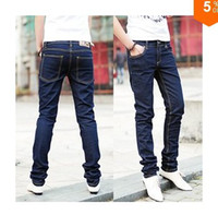 Wholesale 2013 Self Casual jeans pencil men s jeans