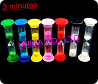 Wholesale 3minutes sand timer tooth hourglass