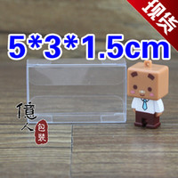 Wholesale 5 cm PVC packing box clear material fashionable choice displaying fruit cosmetics nuts etc