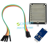 Wholesale New Humidity Detection Sensor Module Rain Detection Rain Sensor Can Be Used For All Kinds Of Weather Monitoring TK0829