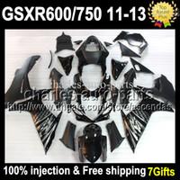Injection Mold For SUZUKI Black GSX R600 R750 11 12 13 GSX- R...