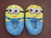 Wholesale Despicable Me Minion Plush Stuffed Slippers Cuddly Fluffy Collectible Dave quot
