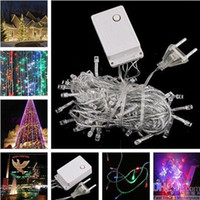 Wholesale LED String Light M V Decoration holiday Light for Christmas Party Wedding colors Utop2012