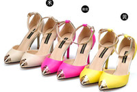 Wholesale 2013 new shoes fashion fashion fine metal tip with sandals
