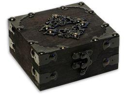Free Shipping Tattoo Gun Antique Wooden Wood Box Case Storage For Tattoo Machine inks kits supply