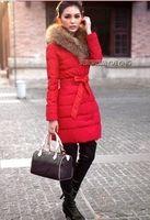Wholesale New arrival hot sale fashion influx Blasting down padded winter warm fur wedding collar coat