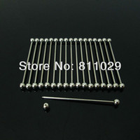 Cheap Stainless Steel industrial barbell Best Other  barbell piercing