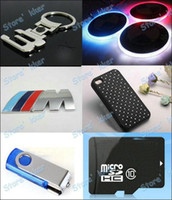 Wholesale Customer Flash USB stick memory card and any other items Car badges car key chains phone case earphone