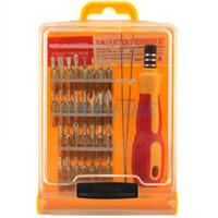 Wholesale 32 in set Micro Pocket Precision Screw Driver Kit Magnetic Screwdriver cell phone tool repair box H553