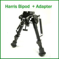 Wholesale 6 inch Foldable Harris Bipod Tactical Bipod Universal Mount Harris Adapter