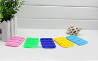 Wholesale Factory Outlet Colorful Super sucker Phone sucker magic stand holder for car bathroom sticker vacuum sucker Mix order