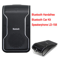 Wholesale LD Wireless Bluetooth Handsfree Speakerphone Car Kit With Car Charger