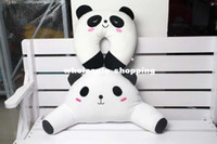 Cheap Cartoon animals plush doll neck guard pillows waist pillow U pillow decompression automotive cushion for leaning on