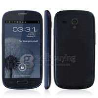 HDC 4.0 Android Mini S3 S4 S9920 4.0 Inch Dual Core MTK6577 Android 4.1 Smart Cell Phone WCDMA 3G GSM 1GHz 512MB RAM 4GB GPS WiFi GPS 12MP Camera i8190