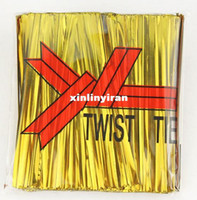 Wedding twist tie - Gold cm packing Wire Metallic Twist Tie Gold