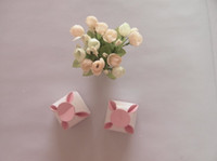 Wholesale factory price Pink Creative Design Wedding Favor Boxes Chocolate Gift Box Hot