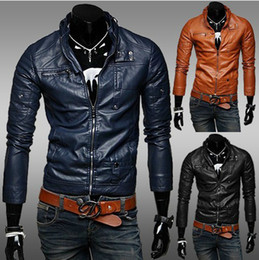 Leather Shorts Blue Jacket Online | Leather Shorts Blue Jacket for