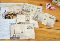 Wholesale New vintage travel world MINI envelopes piece DIY Multifunction envelop