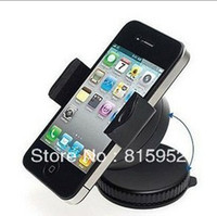 Wholesale Hot Universal Car Holder Bracket Window Mount For iPhone Phones for samsung i9300smartphone GPS PSP iPod