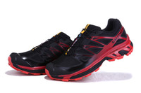 Wholesale Black red salomon XT D wings ultra running shoes for men sports shoes colors comfort men s shoe size