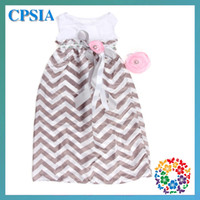Wholesale 04 Women Maxi chevron dress Family Dress Alikes party dress free sizes match headband set sets