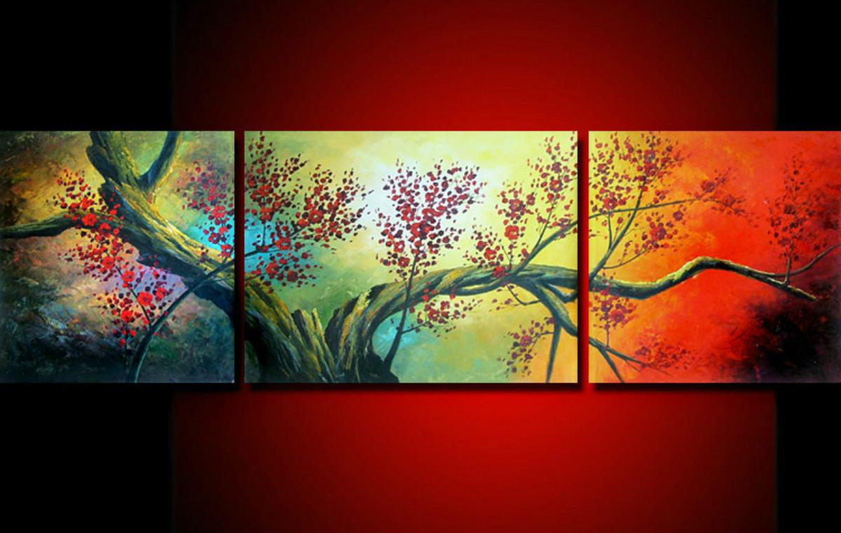 Wall Art Oil Painting : Fa modern abstract wall art oil painting on canvas