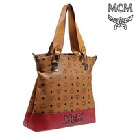 Wholesale New MCM Handbags Women Stylish Zip Pocket MCM Logo and Prismatic Shoulder Bag Elegant Handbags High Quality Hot Sale Bags Mix Order