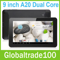 Web Camera Android 4.2 Capacitive Screen 9 inch A20 Dual core 1.2GHz Tablet PC Android 4.2 Dual Camera WiFi HDMI 1GB RAM 8GB MID Free DHL Shipping