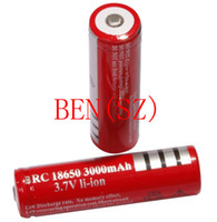Cheap Sales promotion Singapore Free Shipping + 10 pcs Lot Lithium Ion 3000 mAh 18650 Rechargeable 18650 Batteries Fast Shipping C20005