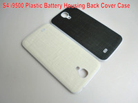Wholesale New Plastic Battery Housing Back Cover Case For Samsung Galaxy S4 by HONGKONGPOST